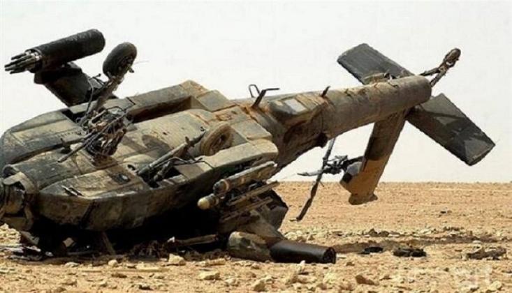 Suriye'de ABD'ye Ait Askeri Helikopter Düştü