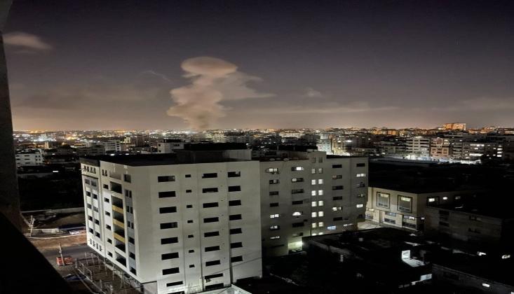 İşgal Güçleri Gazze'ye Hava Saldırısı Düzenledi
