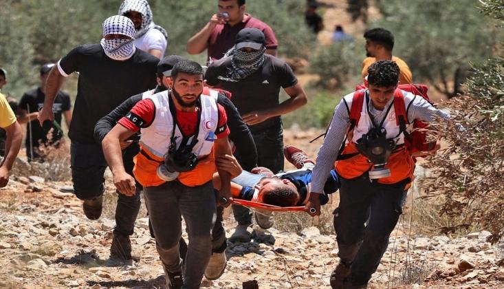 İşgal Rejimi Filistinlilere Saldırdı