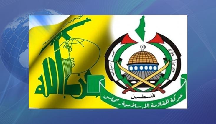 Hamas Heyeti, Hizbullah Yetkilileriyle Görüştü