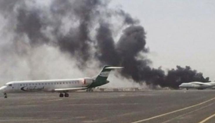 Sana Havalimanı'na Hava Saldırısı