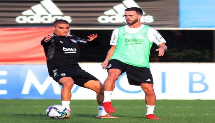 Miralem Pjanic Beşiktaş'ta İlk İdmanına Çıktı