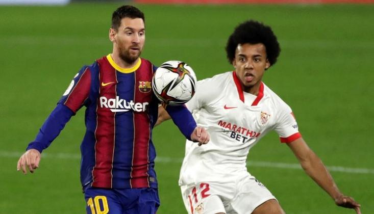 Kral Kupası'nda Sevilla İlk Maçta Barcelona Yendi