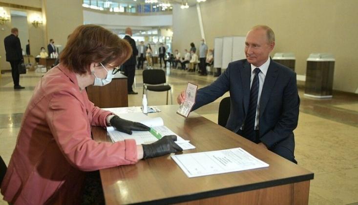Rusya'da Anayasal Reform Oylaması
