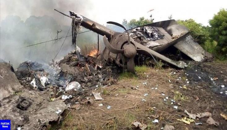Özbekistan, Afganistan Uçağını Düşürdü