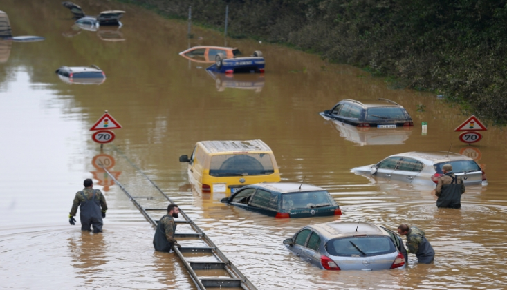 Avrupa'da Sel Felaketinin Etkileri Büyüyor