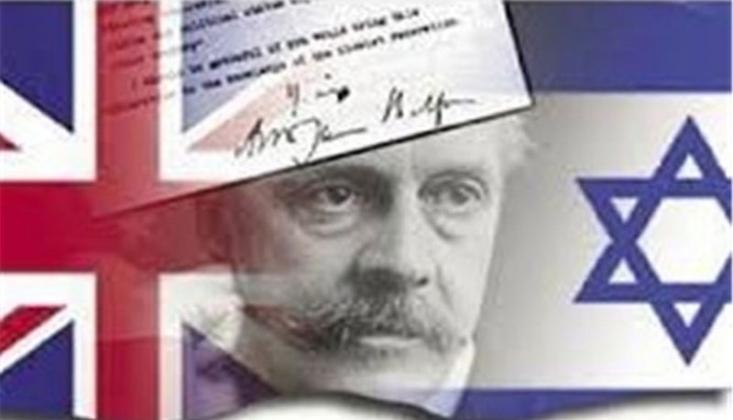 Tarihin Kara Lekesi Balfour Deklarasyonu