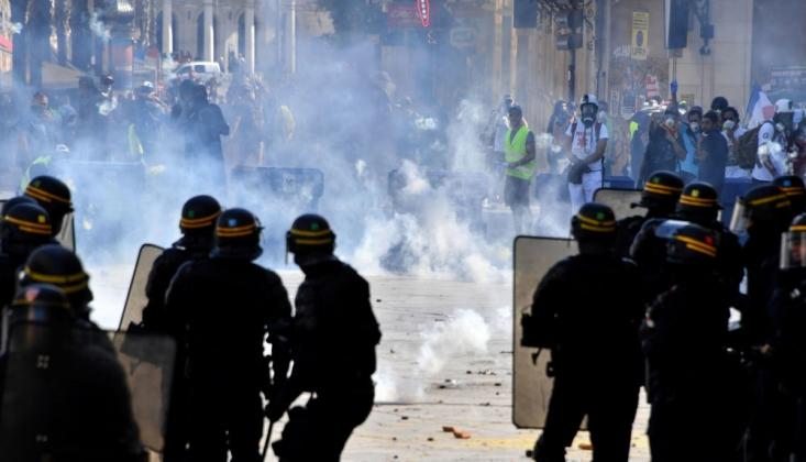 Fransız Polisi Sarı Yelekler'e Uyguladığı Şiddetten Yargılanacak