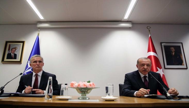 Erdoğan, NATO Genel Sekreteri İle Görüştü