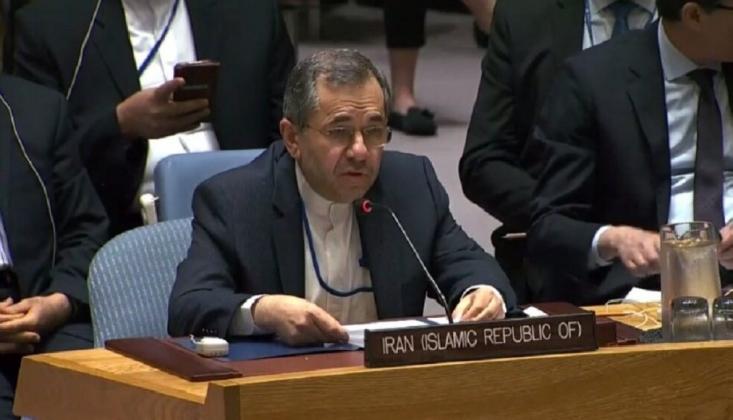 BM'de Yükselen Ses: İran'ın Filistin'e Yardımı Devam Edecek