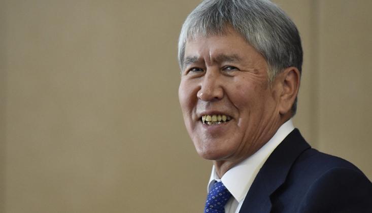 Eski Kırgız Lider Atambayev'e Gözaltı Girişimi