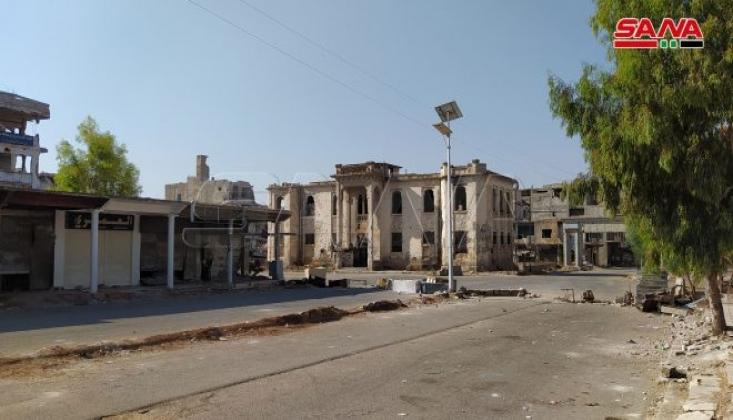 Deraa Kırsalında Bombalı Saldırı
