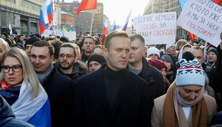 Navalnıy Destekçilerinin Düzenlediği Gösterilerde 100'den Fazla Gözaltı
