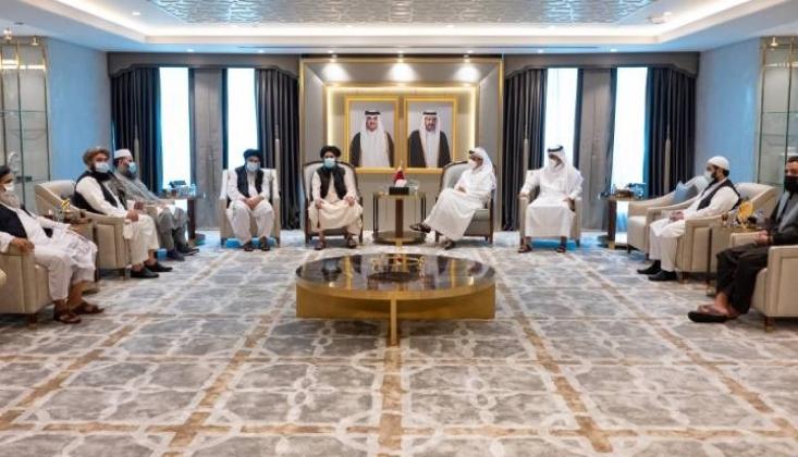Katar Taliban'la Birlikte Çalışacak