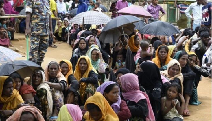 600 Bin Rohingyalı Müslüman Soykırım Tehlikesi Altında