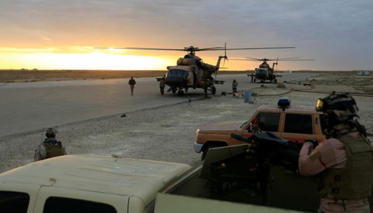 ABD Askerleri Irak'taki Taci Üssünden Çekiliyor