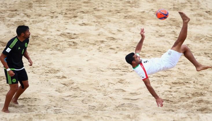 İran Plaj Futbol Takımı Finalde