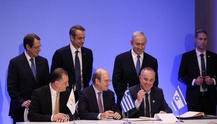 İsrail, Yunanistan Ve Kıbrıs Arasında 'Eastmed' Anlaşması İmzalandı