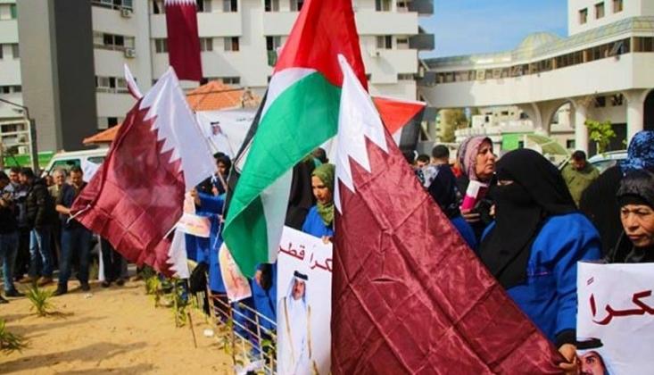 Katar'dan Filistin'e İnsani Yardım