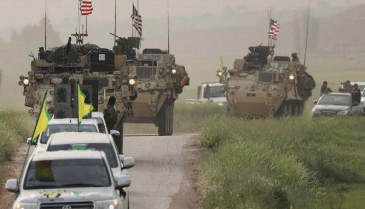 ABD'nin YPG ile İş Birliği Sürüyor!