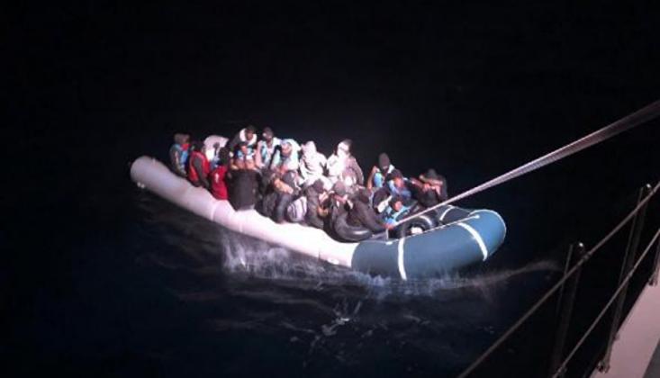 Muğla'da 53 Kaçak Göçmen Kurtarıldı
