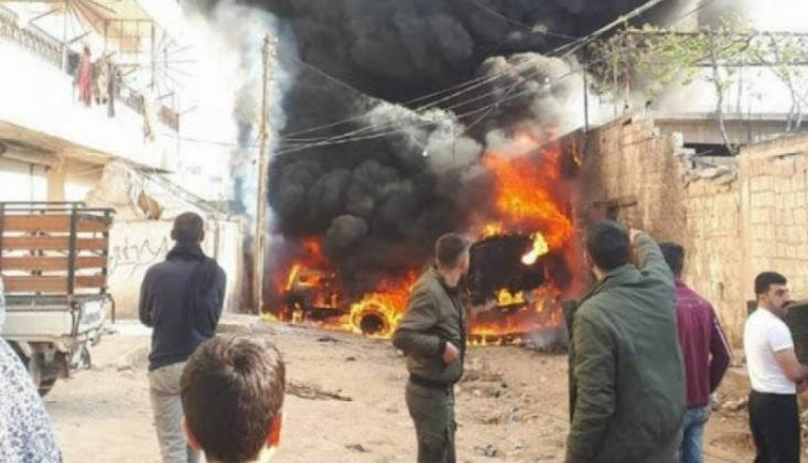 Suriye'de Bomba Yüklü Araç İnfilak Etti