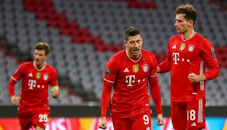 Bayern Münih Çeyrek Finale Uçtu!