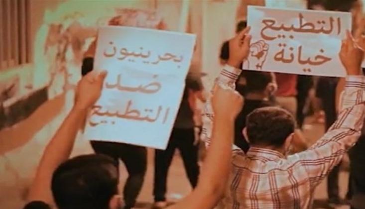 Bahreyn'de, Normalleşmenin Yıldönümünde Protesto Gösterileri