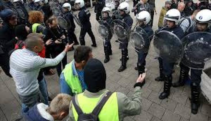 Fransa'da Sarı Yelekliler Gösterileri 51.Haftasında
