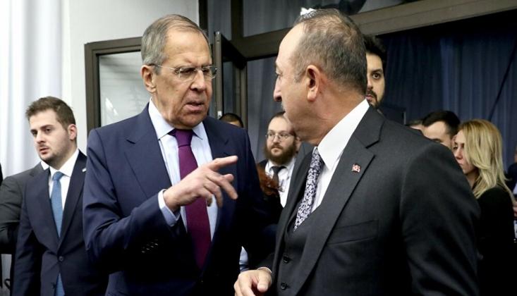 Lavrov ve Çavuşoğlu Dağlık Karabağ'ı Konuştu