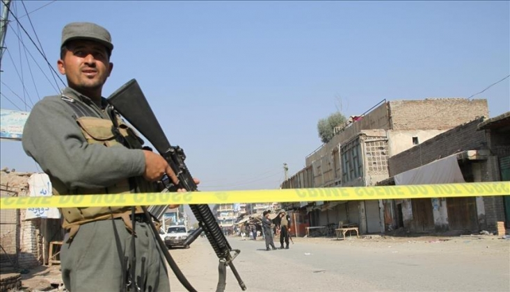 Taliban Polis Karakolunu Vurdu