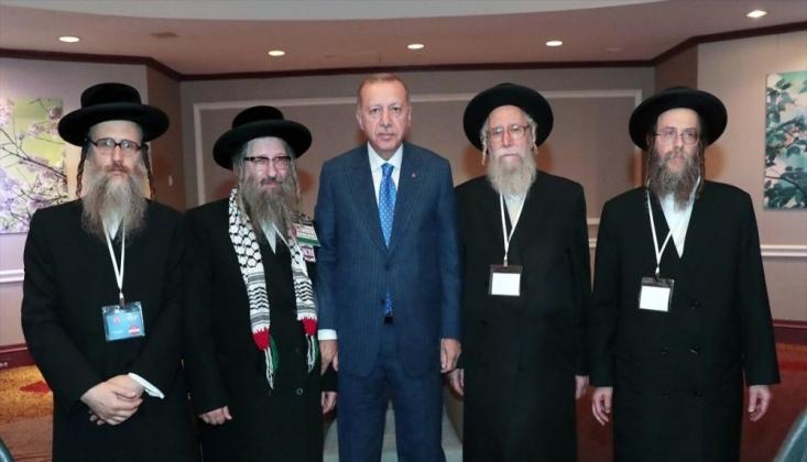 Erdoğan ABD'de Yahudi Heyeti Kabul Etti