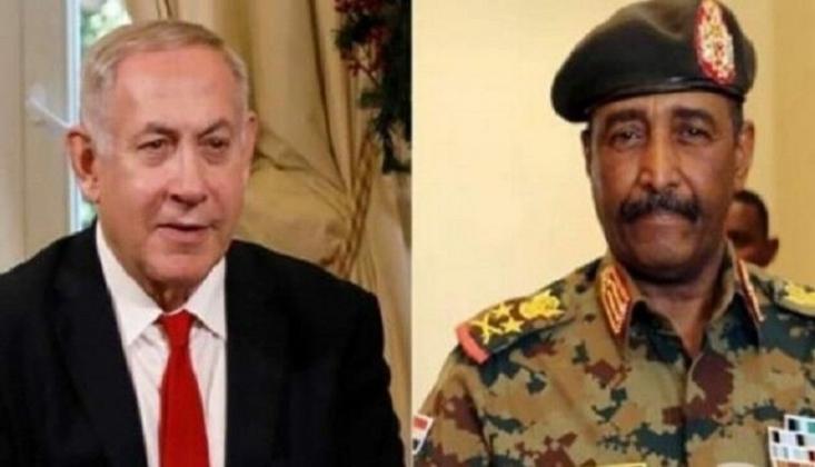 Filistin'liler Sudan'lı Yetkilinin Netanyahu ile Görüşmesini Kınadı