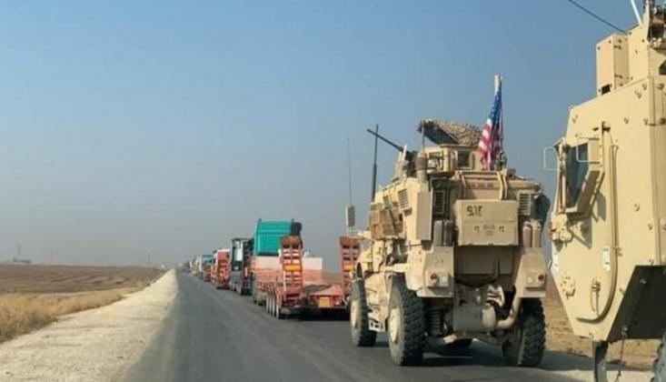 Zırhlı Araç Taşıyan 54 Amerikan Kamyonu Daha Irak'tan Suriye'ye Girdi