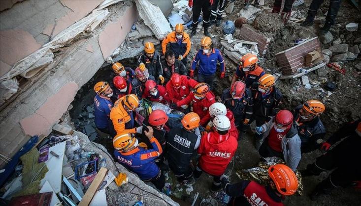 İzmir'deki Depremde Can Kaybı 49'a Yükseldi