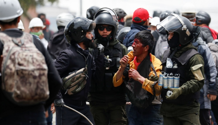 Morales, Destekçilerine Karşı Polisin Gerçek Mermi Kullandığını Duyurdu