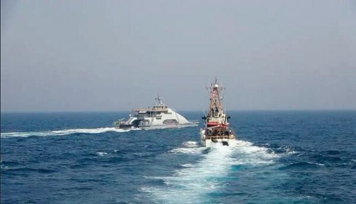 ABD ve İran Savaş Gemileri Fars Körfezi'nde Karşı Karşıya!