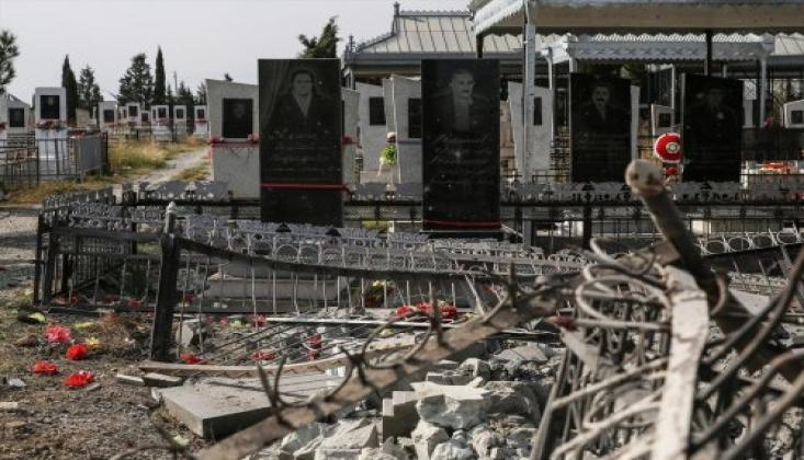 Ermenistan Mezarlık Ziyaretindeki Sivilleri Öldürdü FOTO/VİDEO
