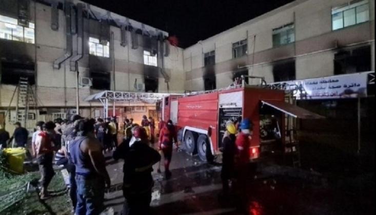 Bağdat'taki Hastane Yangınında Ölü Sayısı Arttı