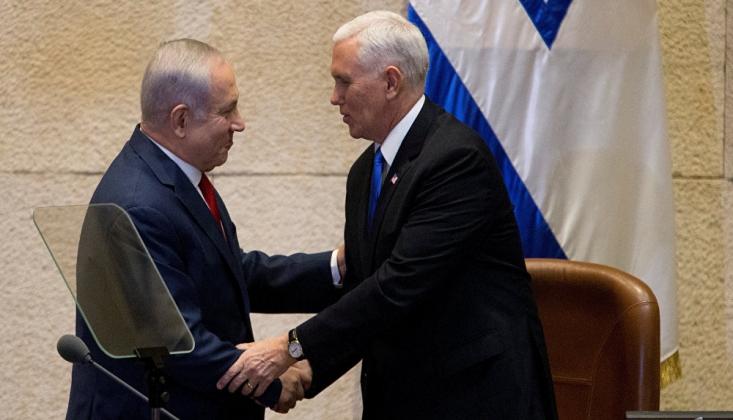 Netanyahu ve Gantz 'Yüzyılın Anlaşması' İçin ABD'ye Gidiyor