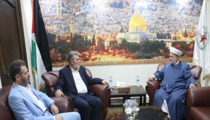 İslami Cihad Hareketi Lübnan ile Görüştü