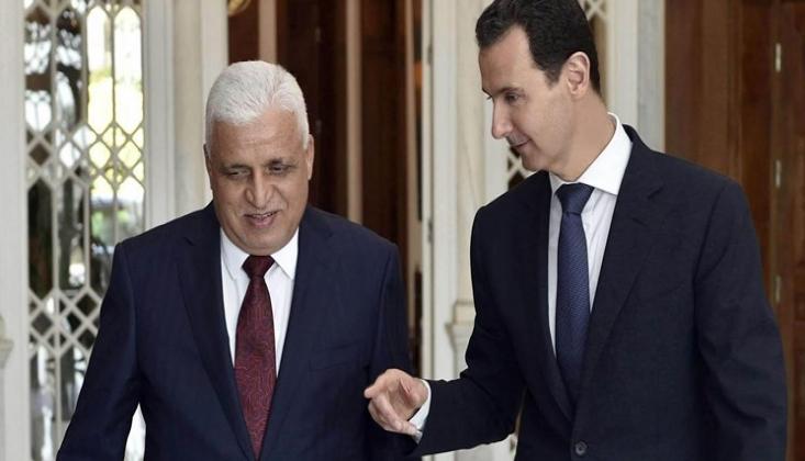 Haşdi Şabi Lideri, Suriye Devlet Başkanı İle Görüştü