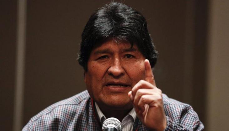 Morales: Amerika Bolivya'nın Kaynakları İçin Darbe Yaptırdı