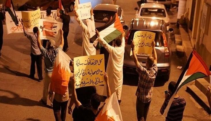 Bahreyn'de Siyonist Rejim Karşıtı Protestolar Devam Ediyor