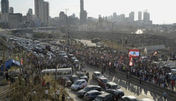 Beyrut'taki Patlamada Hayatını Kaybedenler İçin Anma Töreni