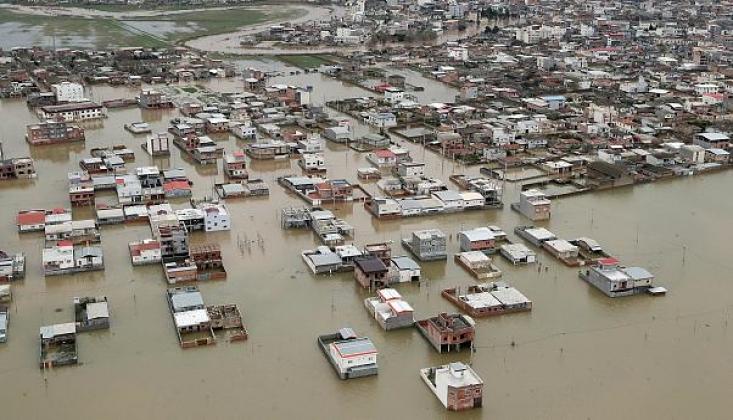 İran'da Sel Felaketi: 3 Ölü / FOTO