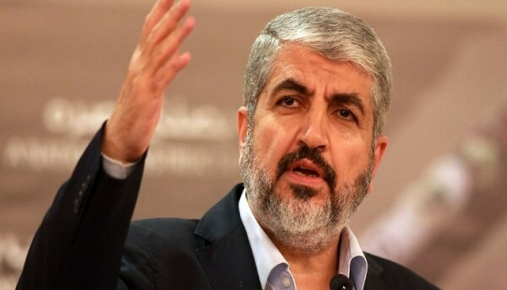 Halid Meşal: ABD, İsrail'in Yenilgisini Telafi Etmeye Çalışıyor