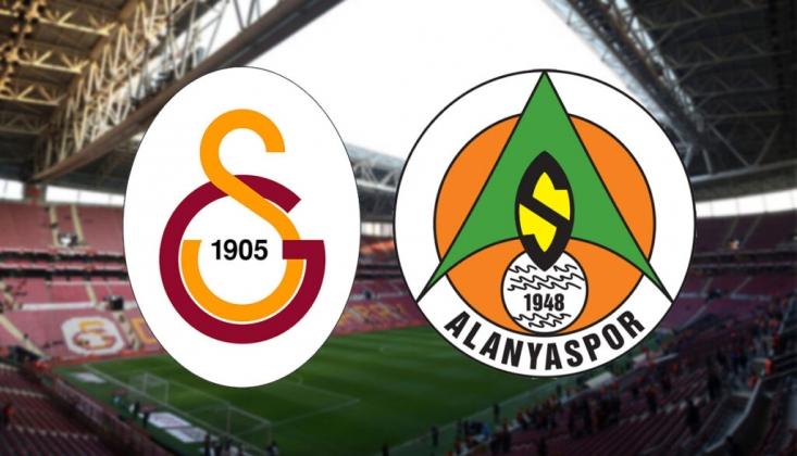 Galatasaray - Alanyaspor Maçı