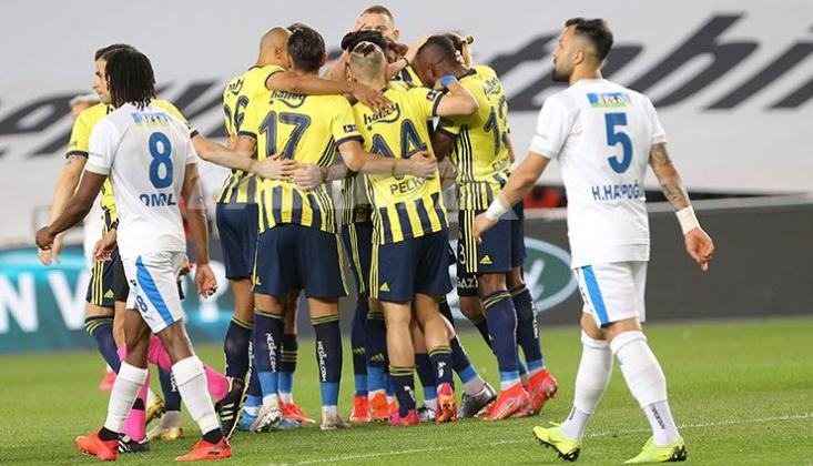 Fenerbahçe Erzurumspor'u 3-1 Mağlup Etti