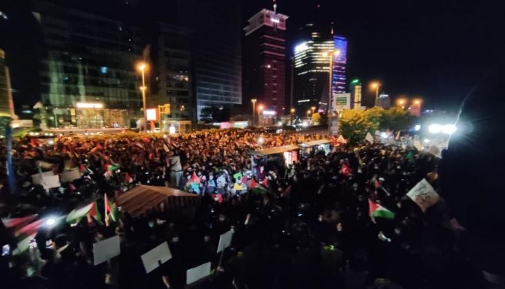 İstanbul'dan Filistin Direnişine Destek